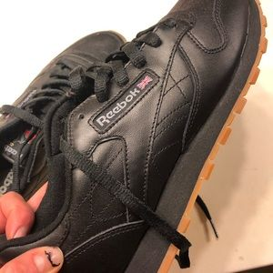 Black Reebok womens 8.5